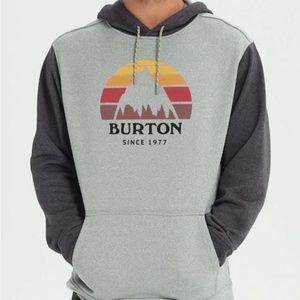 Burton Snowboard Oak Pullover Hoodie Sweatshirt XL